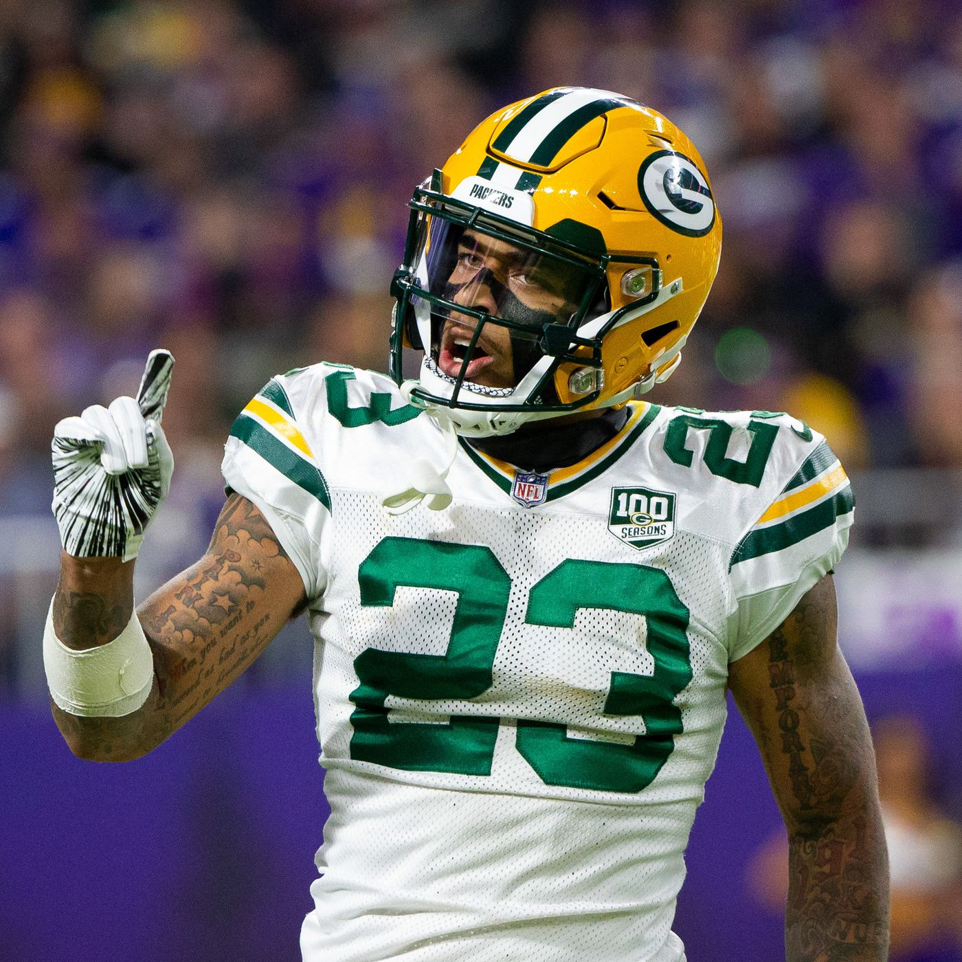 Packers' Top Plays of 2018, #5: Jaire Alexander tackles a dude with another dude - Acme Packing Company