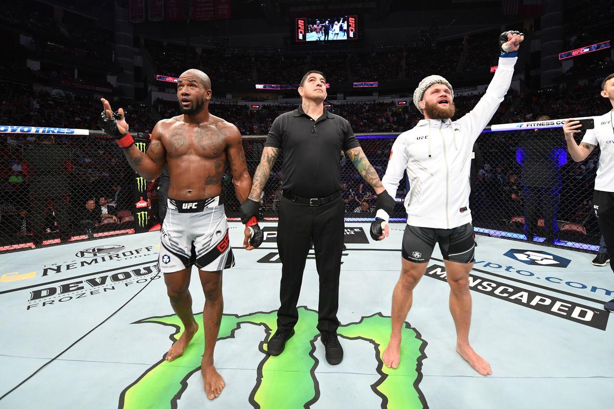 UFC 265: Green v Fiziev
