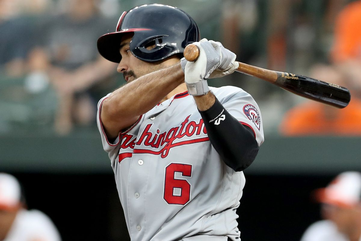 Washington Nationals' lineup for the 2nd of 2 with the Baltimore Orioles in OPACY...
