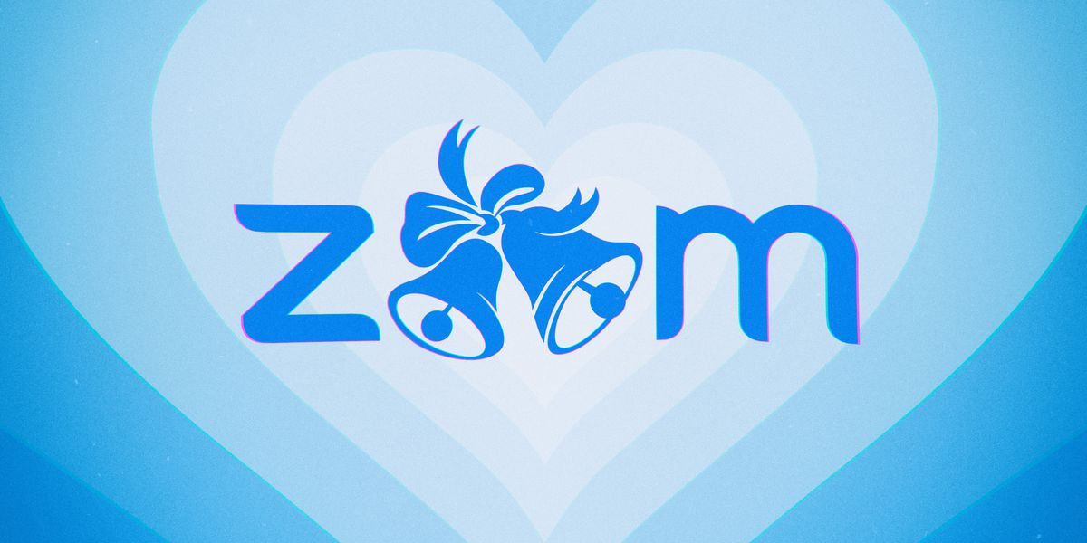 """Image of article 'Saying """"I do"""" over Zoom'"""