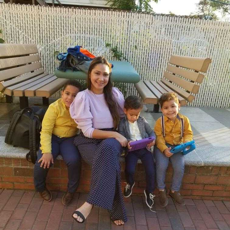 Anabel Espinal's youngest children were blocked from attending an early childhood program Wednesday that's outside of the hot zone because they live in a zip code identified as a hotspot.