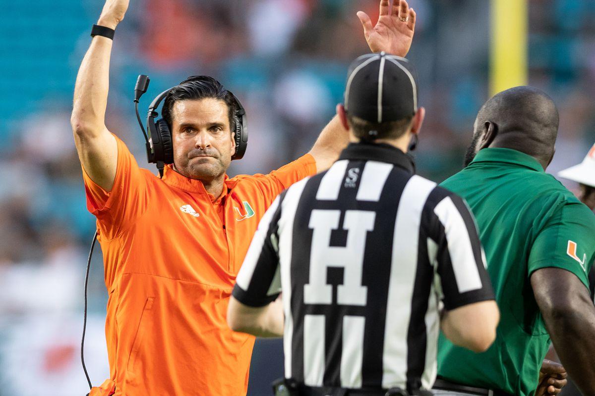 NCAA Football: Appalachian State at Miami