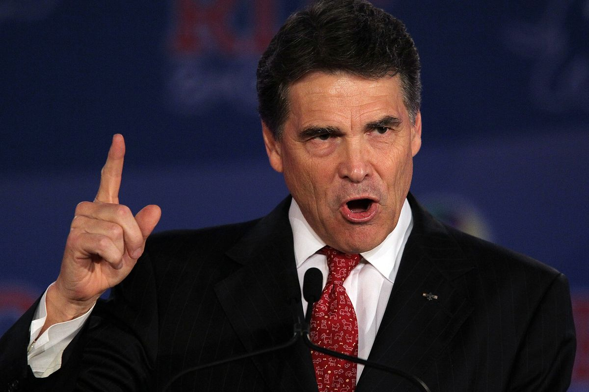 Rick Perry withheld funding from a unit in a district attorney's office, saying he couldn't fund the office while Rosemary Lehmberg was in charge.