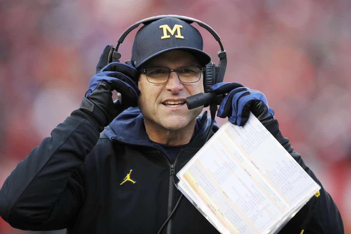 Michigan opens Wisconsin week as rare underdog in Harbaugh era