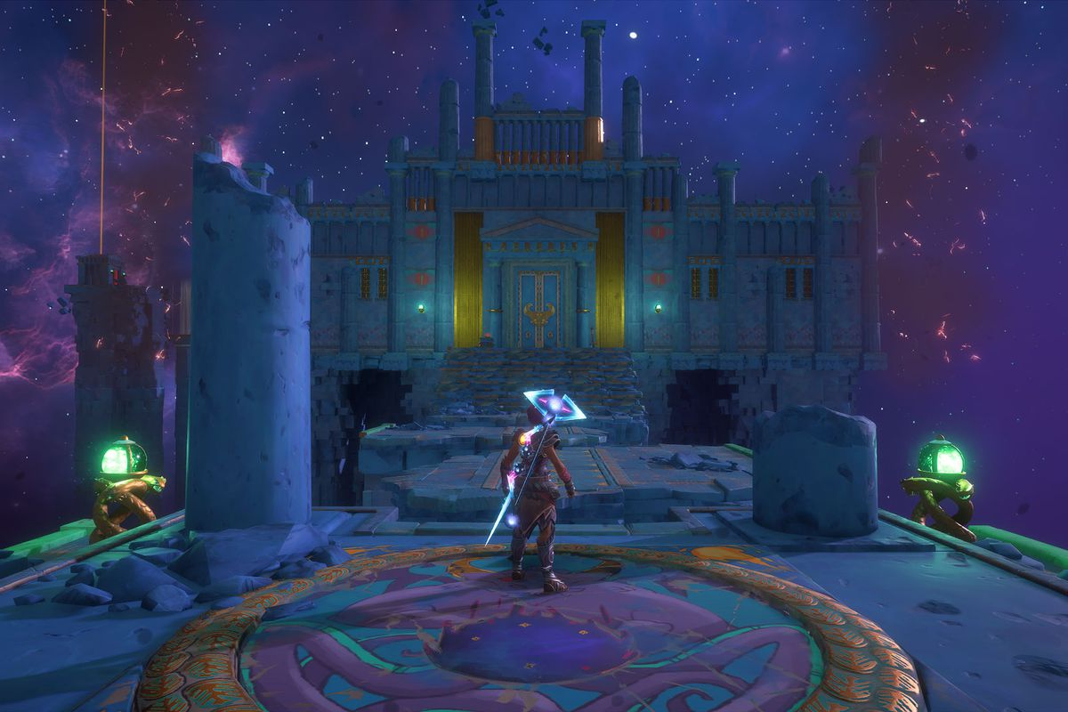 The Arena of Fortitude in Immortals Fenyx Rising