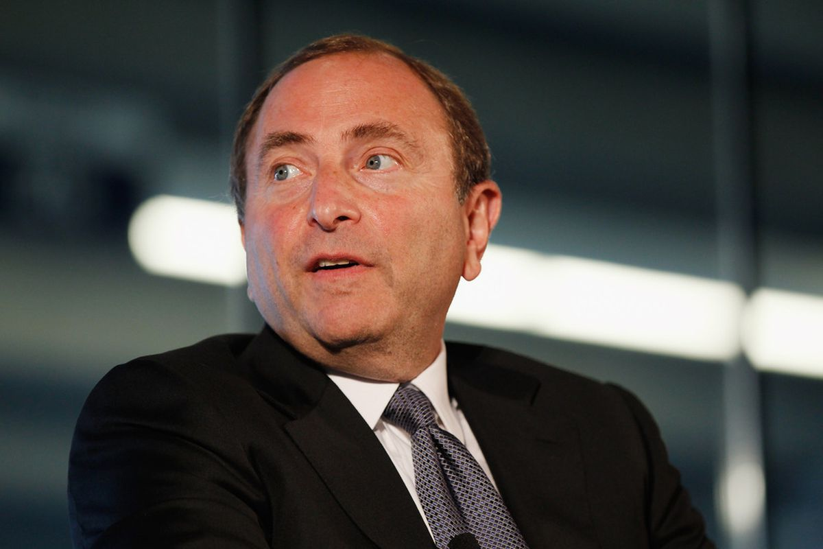 Can Commissioner Gary Bettman succeed in getting a decision on realignment made at today's Board of Governors meeting?