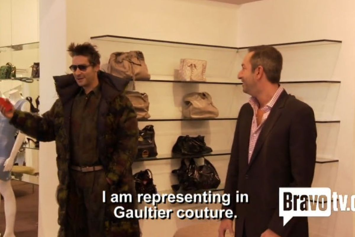 I come from the planet Gaultier.