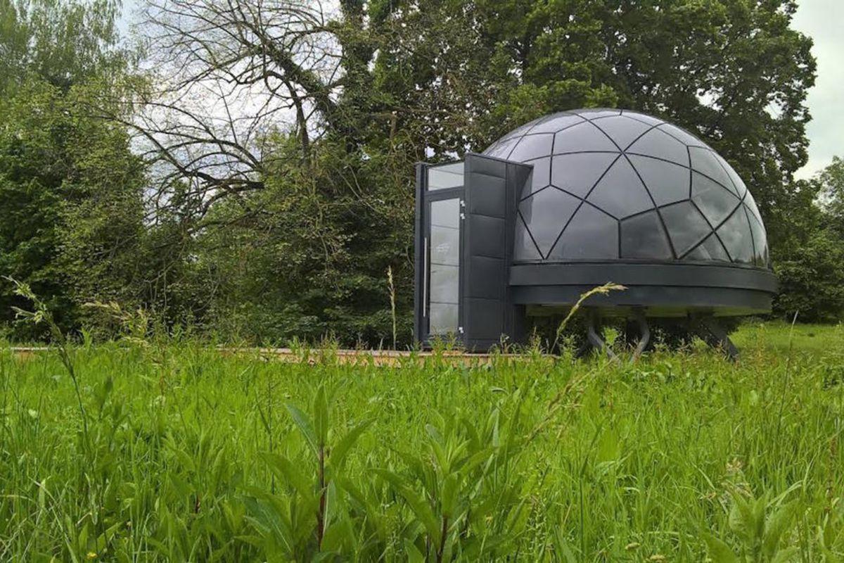 prefab dome home