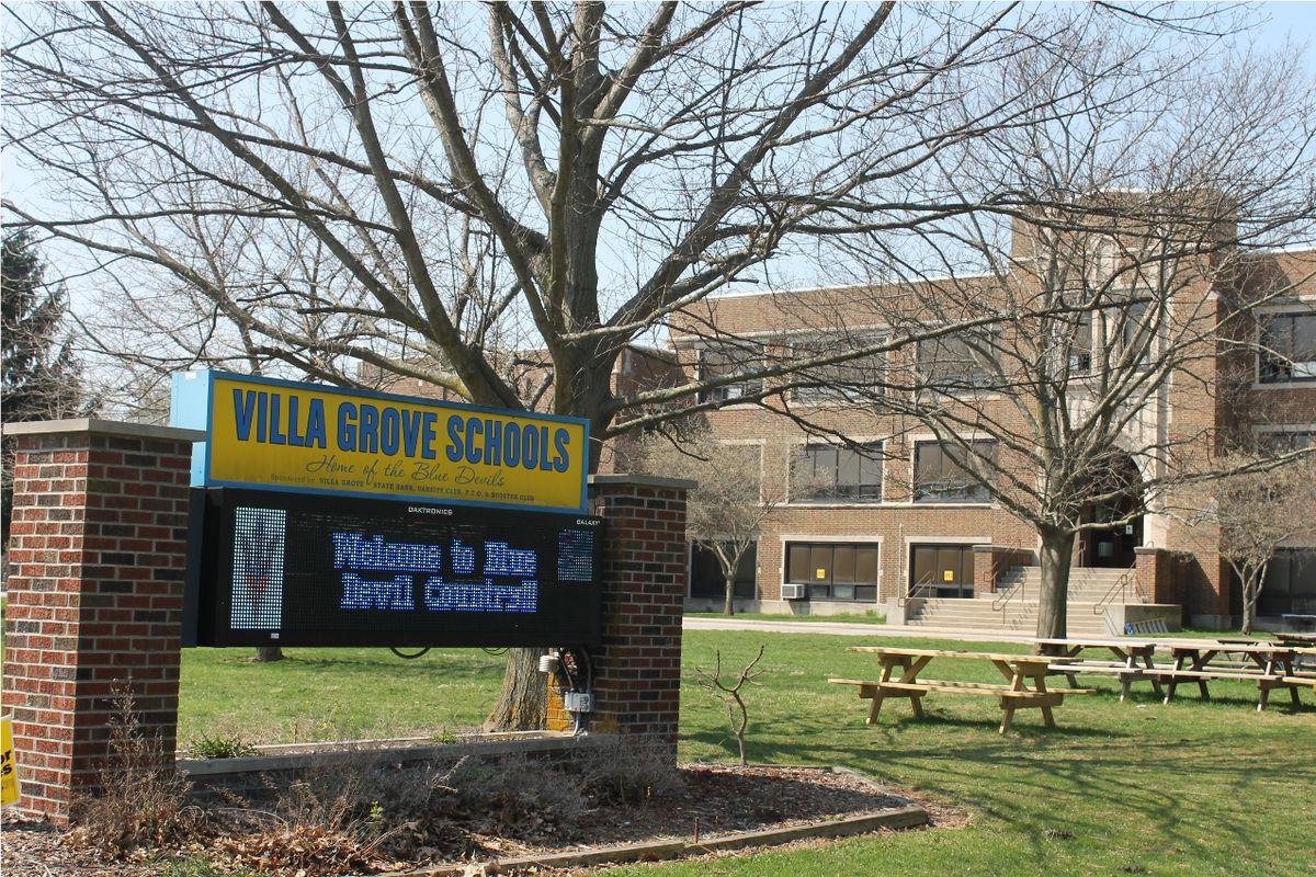 The Villa Grove School District Headquarters in Villa Grove, Ill.