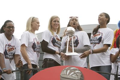 Indiana Fever Championship Celebration