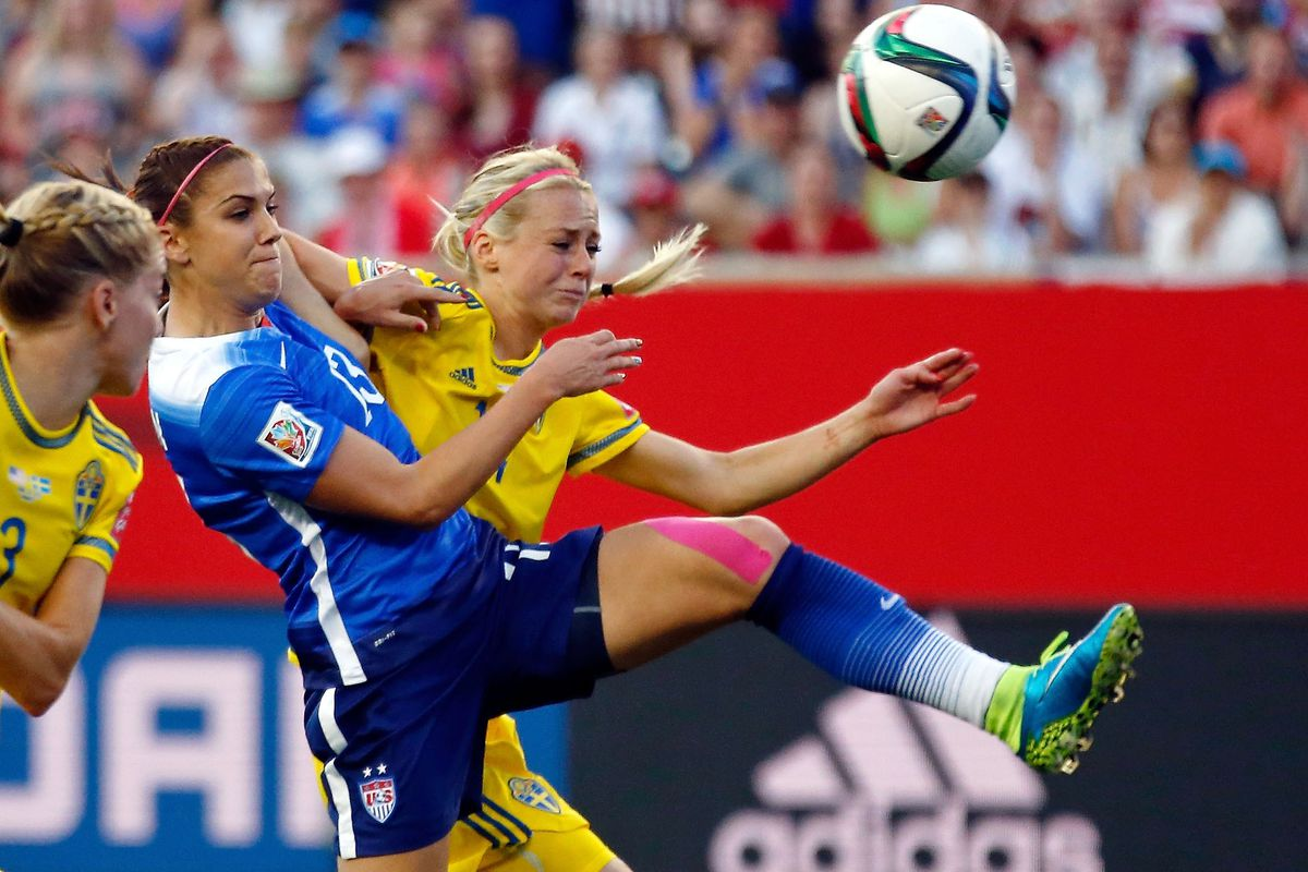 Alex Morgan has only played about 15 minutes per game in US's first two matches. Is she fit enough to play more?