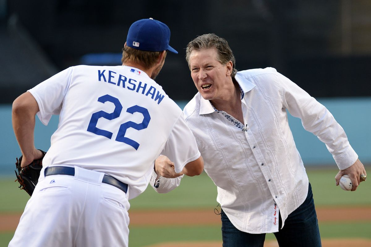 Orel Hershiser & Clayton Kershaw, 25 years apart - True Blue LA