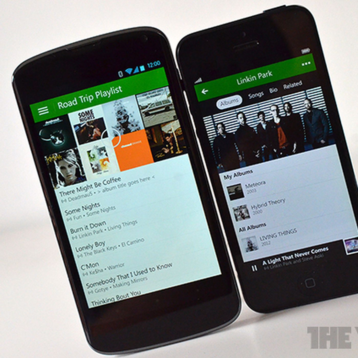 Xbox Music for iOS and Android now streams songs from