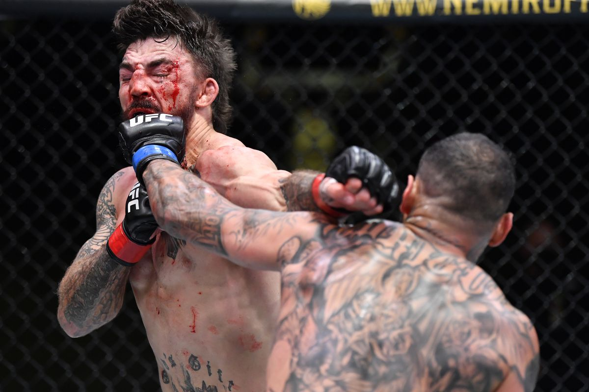 UFC Vegas 23, The Morning After: Can Mike Perry be saved? - MMAmania.com
