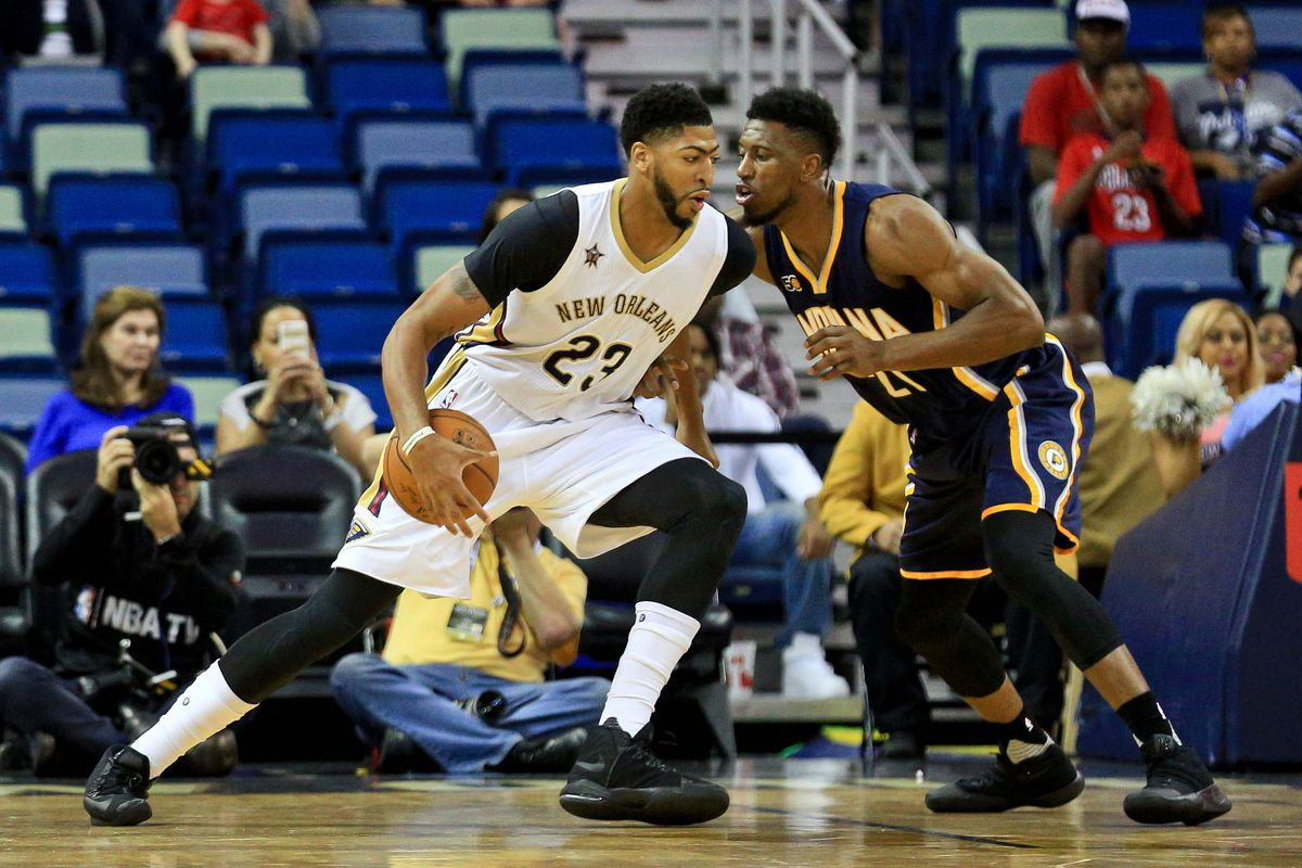 NBA: Preseason-Indiana Pacers at New Orleans Pelicans
