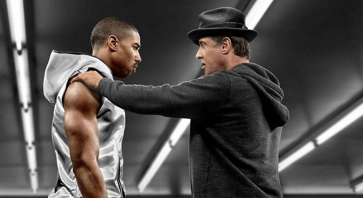 Creed and Rocky in Creed