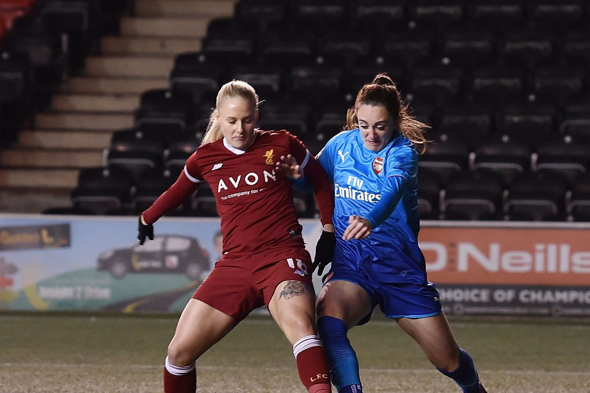 Liverpool Ladies v Arsenal Women : FA WSL 1