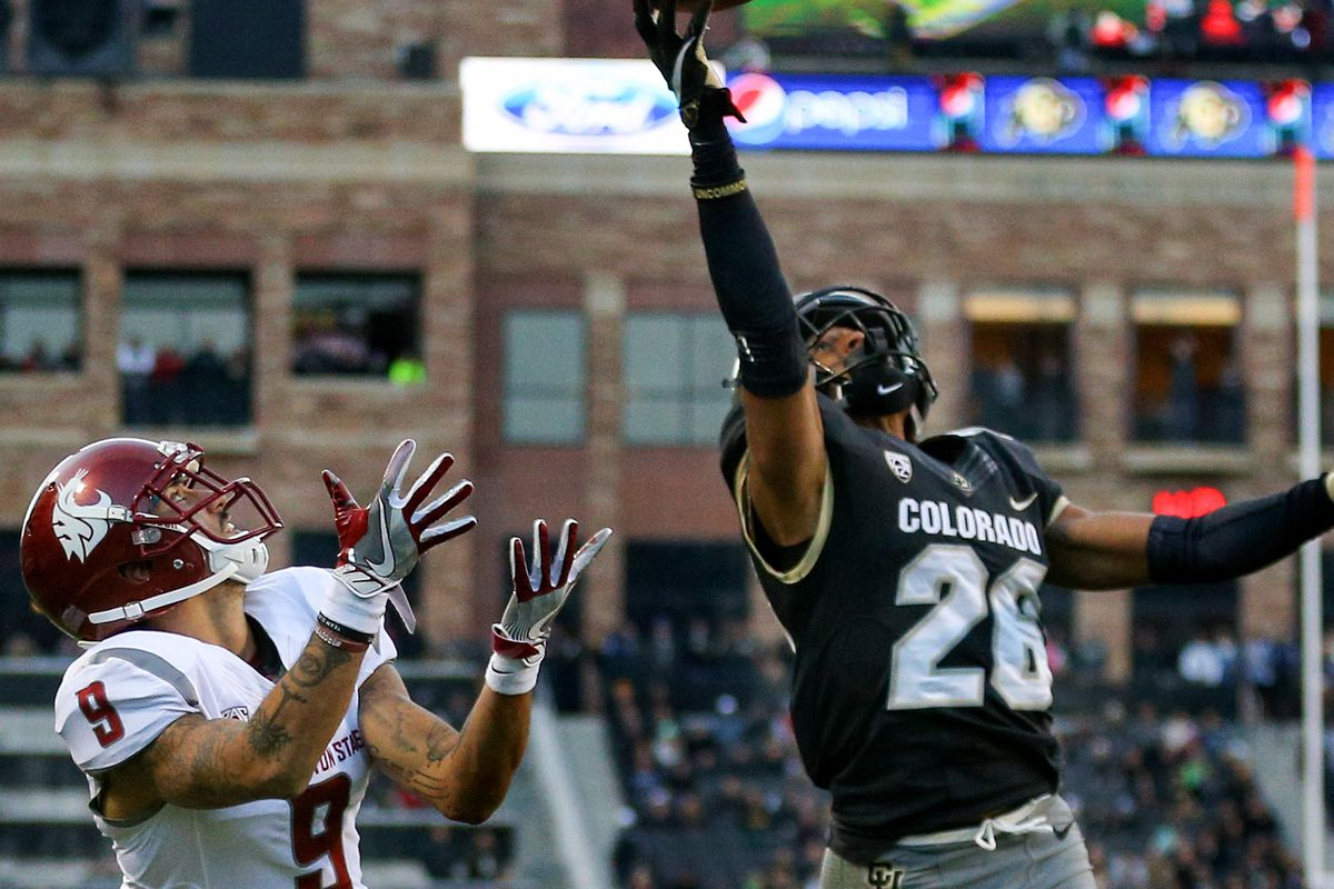 best service 27eec 60b53 Rapsheet: Falcons interested in Colorado CB Isaiah Oliver in ...
