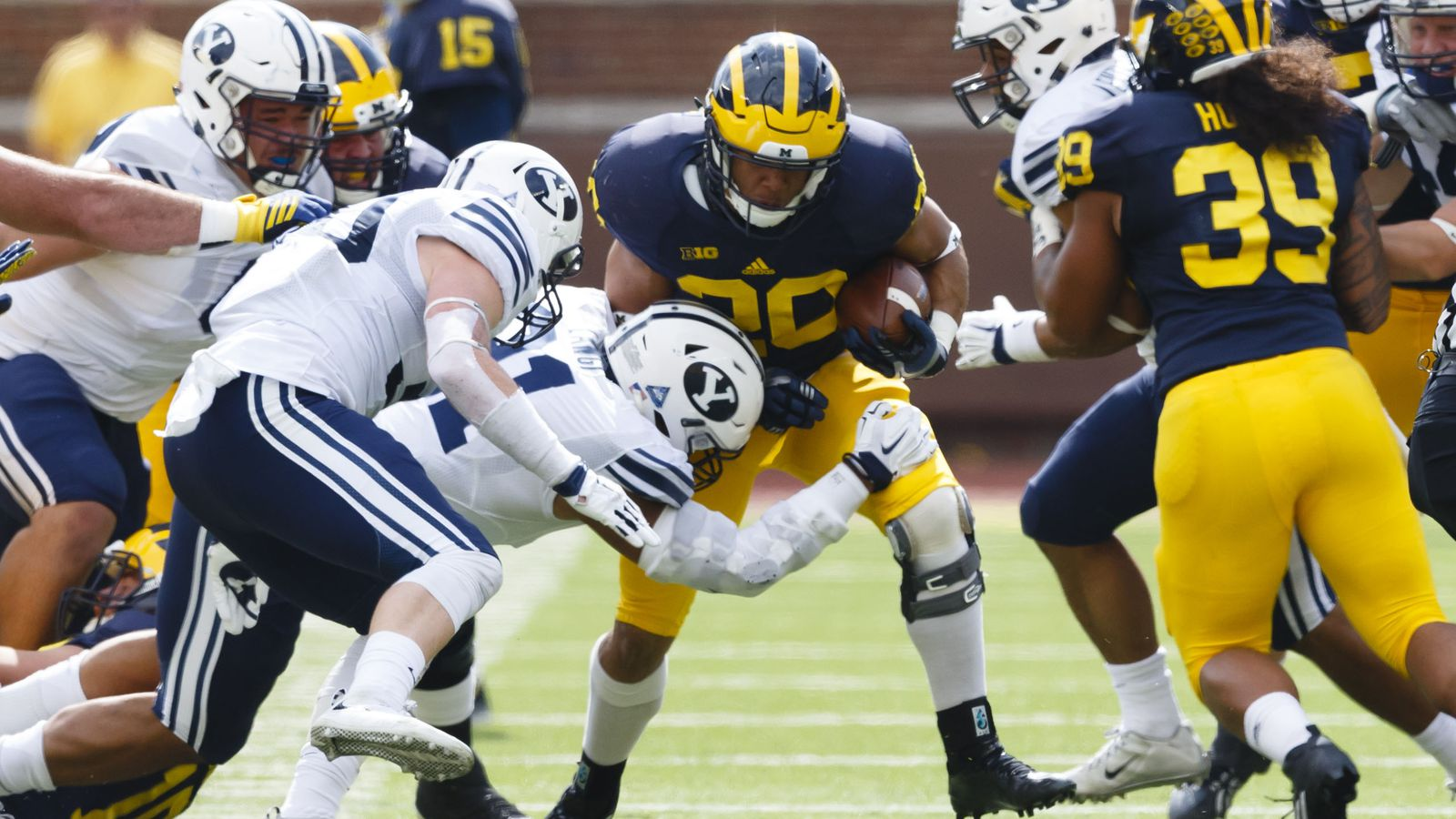 Breaking Down Michigans Smothering Win Over Byu And What It Tells