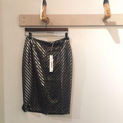 Glimmer of Hope pencil skirt, $40