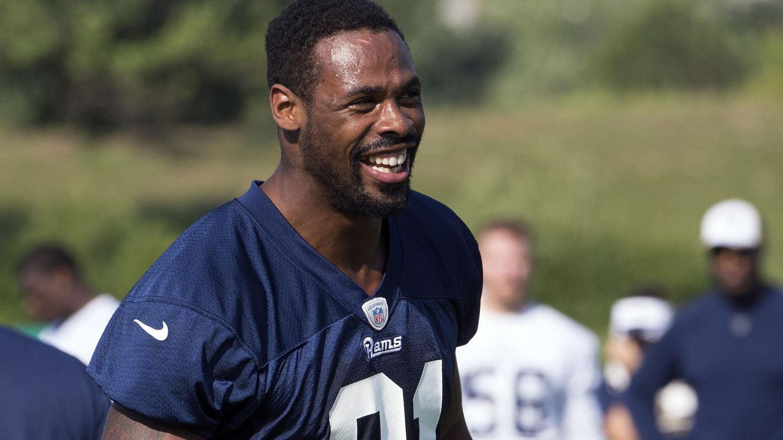 Kenny Britt Injury Rams Wr Leaves Game With Banged Up