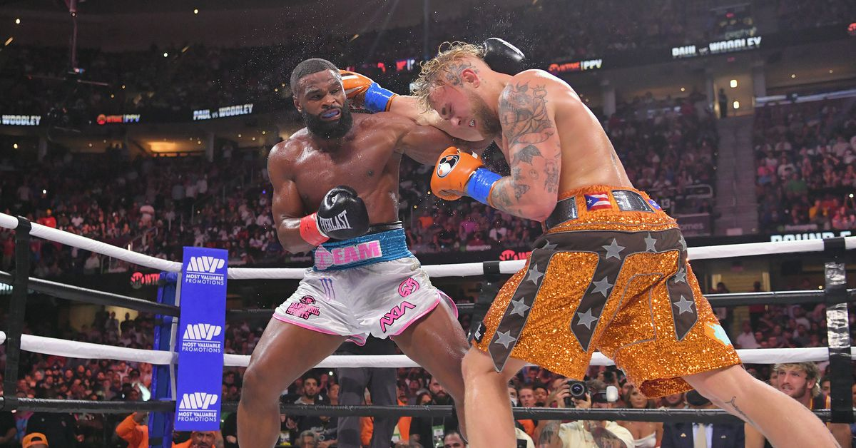 Report: Jake Paul vs. Tyron Woodley card sold approximately 500,000 pay-per-view buys