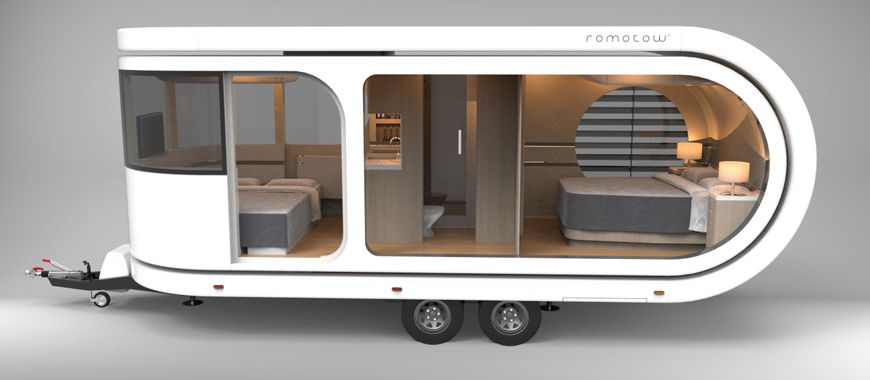 Camper trailer expands to reveal huge party deck - Curbed