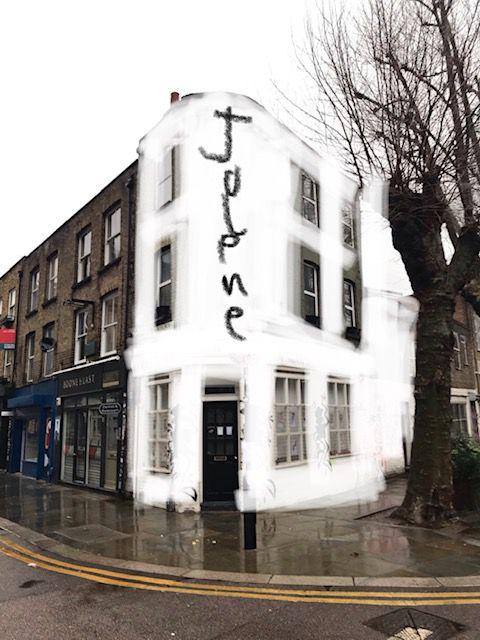 A render of the new Jolene bakery on Redchurch Street in Shoreditch