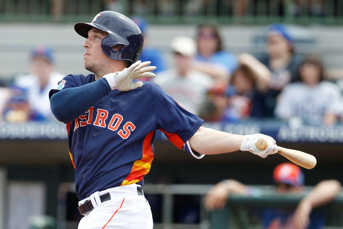 Alex Bregman hit yet another home run for Corpus Christi.