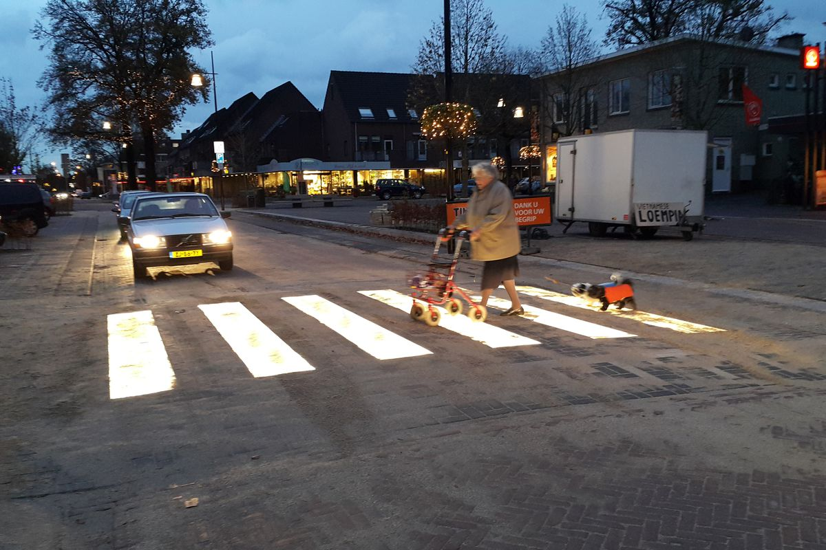 New Glowing Crosswalks Will Help Protect Pedestrians In