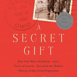 """The Persian Pickle Club recommended """"A Secret Gift"""" by Ted Gup."""