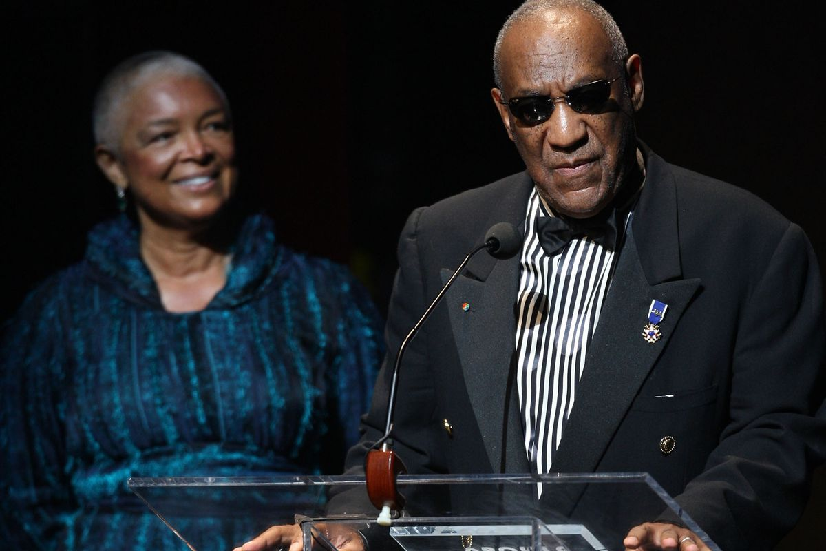 Camille Cosby is standing by her man, but she's not the only one.