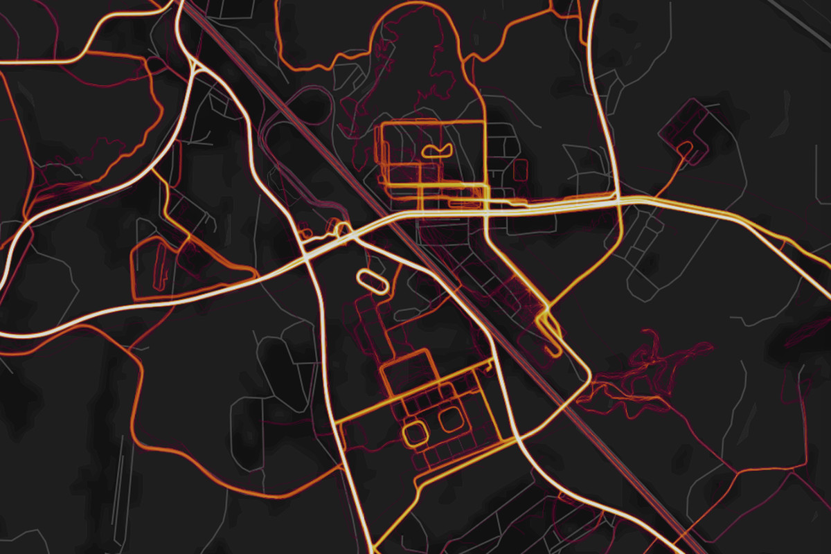 Strava Heat Maps Strava will refresh its heat map every month to clear it of data
