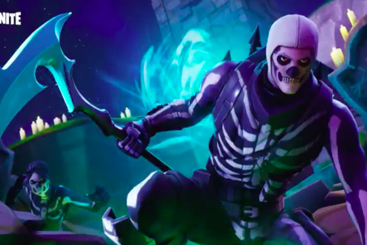 fortnite s skull trooper mania shows how epic makes big money selling skins - white soccer skin fortnite