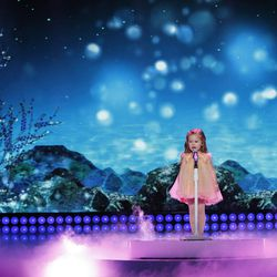 """Claire Crosby's performance on """"Little Big Shots"""" will air Sunday on NBC."""