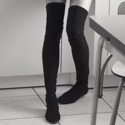 <strong>Isabel Marant Étoile</strong> over-the-knee boot from F/W 2013-2014 collection, price upon request at Barneys New York