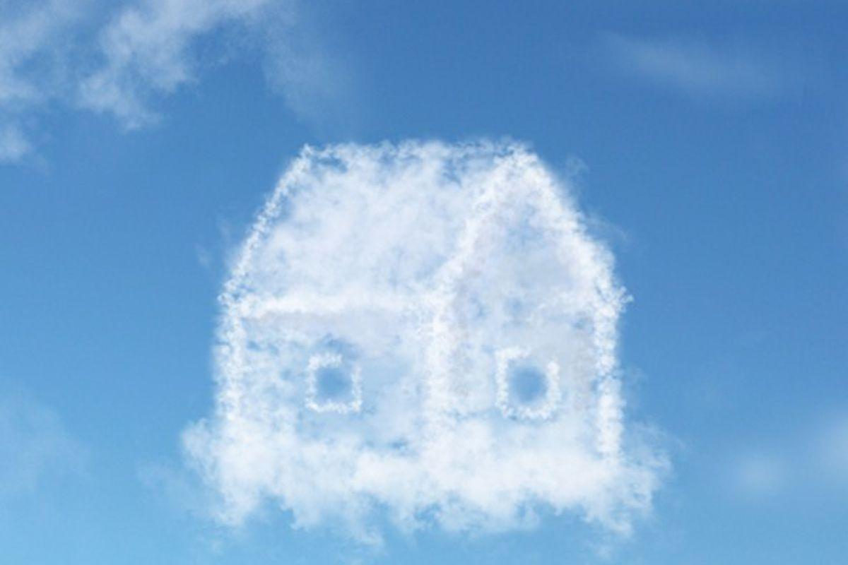 shutterstock cloud house
