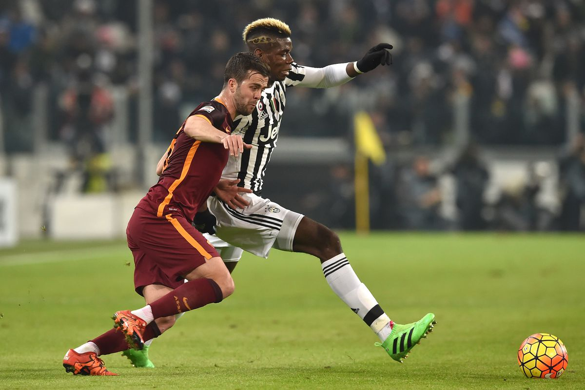 The difference between Miralem Pjanic and Paul Pogba in Juventus