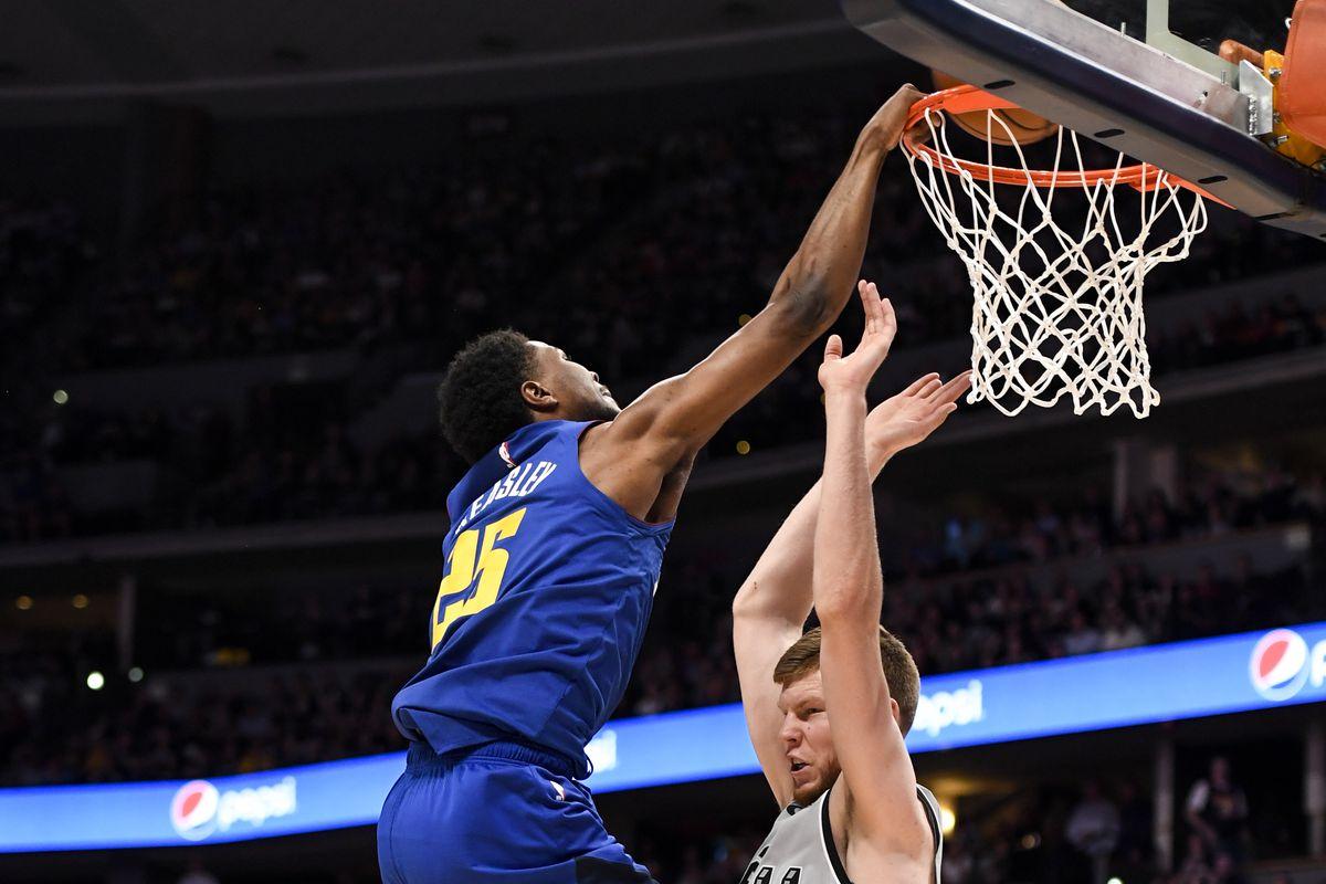 DENVER NUGGETS VS SAN ANTONIO SPURS, NBA PLAYOFFS