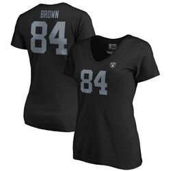 "<a class=""ql-link"" href=""http://sbnation.fanatics.com/NFL_Oakland_Raiders/Antonio_Brown_Oakland_Raiders_NFL_Pro_Line_by_Fanatics_Branded_Womens_Authentic_Stack_Name_And_Number_V-Neck_T-Shirt_-_Black?utm_source=NFLFreeAgencyTracker"" target=""_blank"">Antonio Brown Oakland Raiders NFL Pro Line Women's Name & Number V-Neck T-Shirt - Black</a> for $31.99"