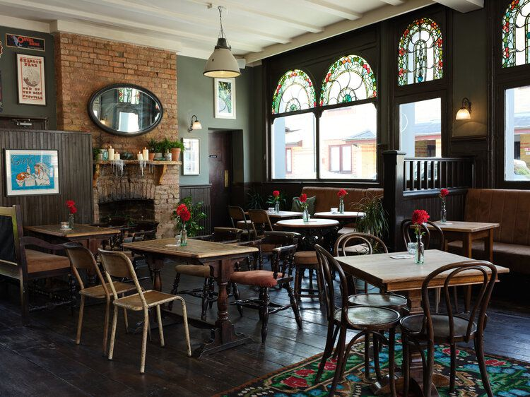 London's best Sunday roasts include the Black Dog Beer House
