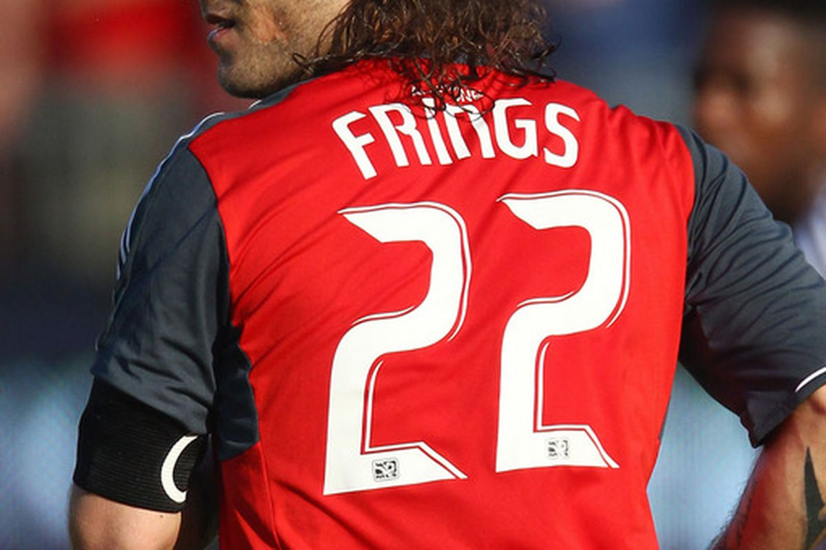 Midfielder Torsten Frings captains Toronto FC.