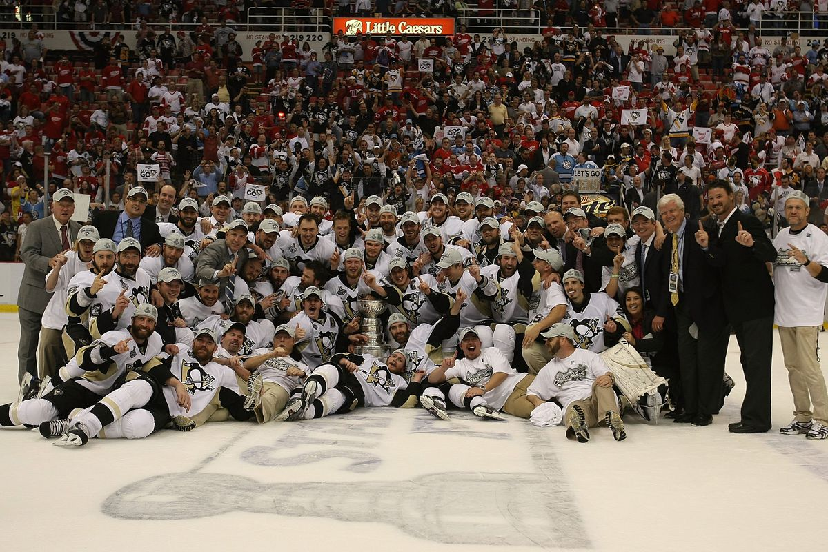 Ten Years Today: Penguins defeat Red Wings for Stanley Cup
