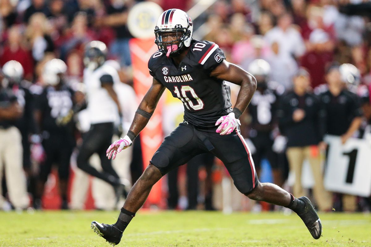Skai Moore looks to be a large part of the 2016 Gamecock defense