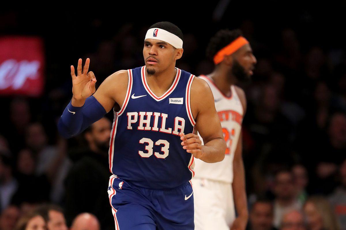 Sixers vs. Knicks: 1st Half Thread
