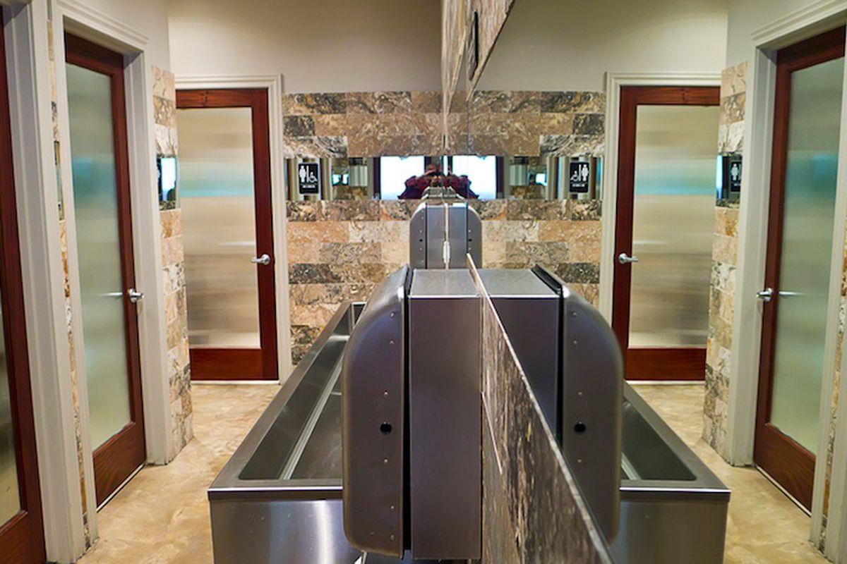 BRC Gastropub's bathroom.