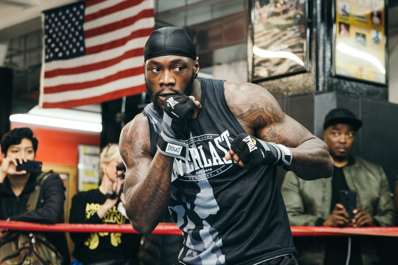 wilder workout 0007.0 - Wilder: Breazeale is going to get knocked out in dramatic fashion