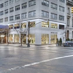"""Michael Kors <a href=""""http://ny.racked.com/archives/2011/03/10/new_kors_flagship_is_right_at_home_on_madison_avenue.php"""" rel=""""nofollow"""">opened</a> a new flagship on 67th and Madison back in March."""