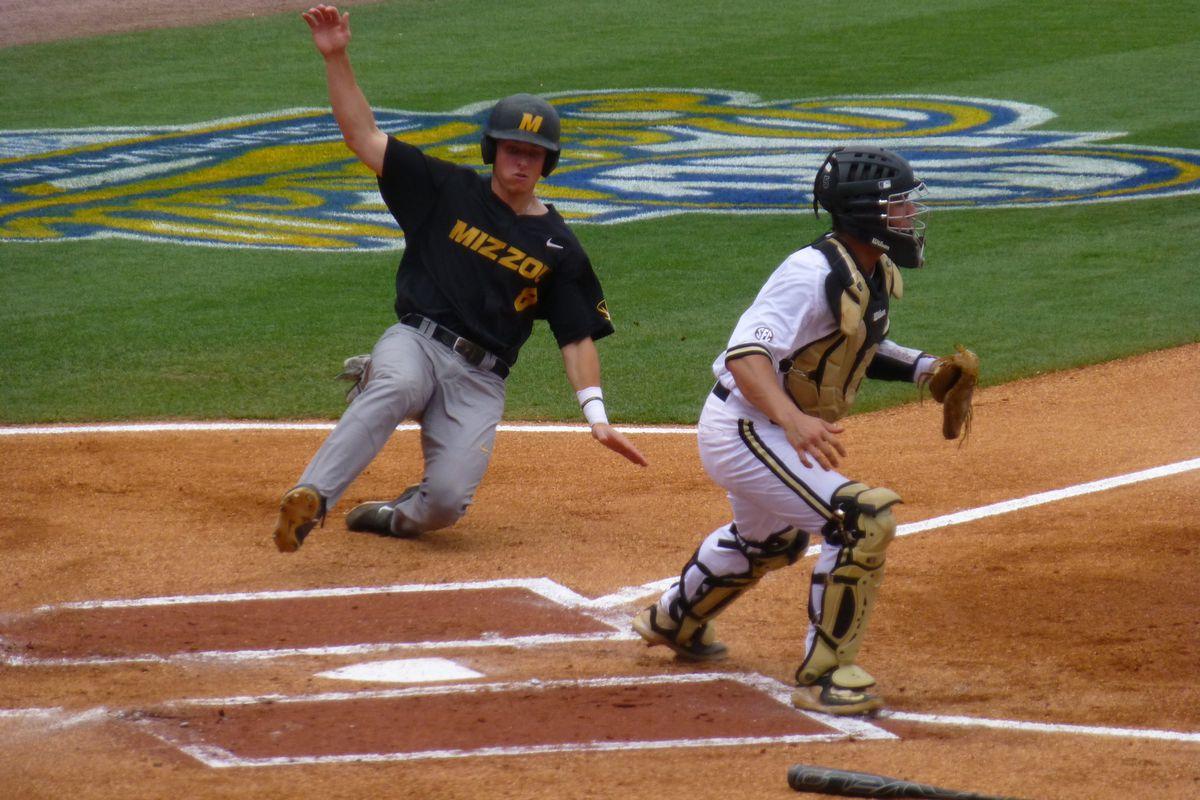 2015 SEC Baseball Tournament: Vanderbilt Commodores 7, Missouri
