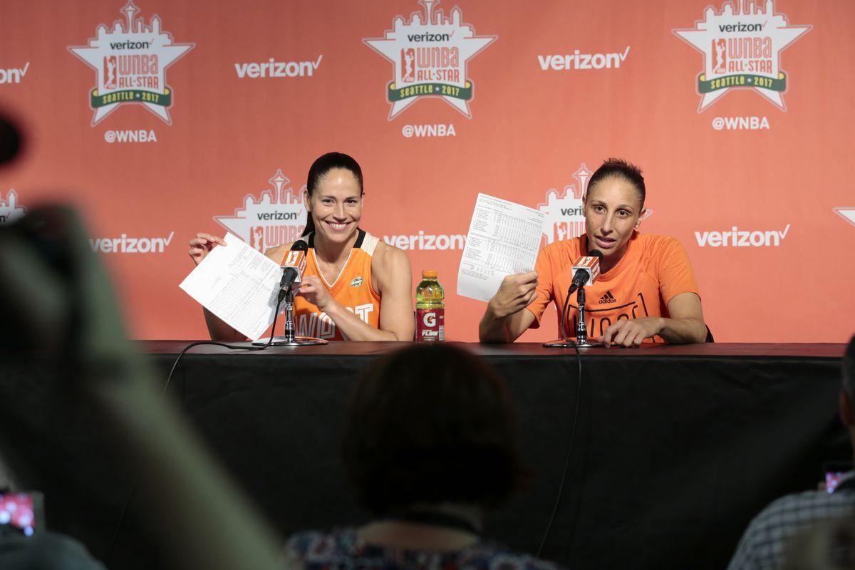 WNBA All-Star Game, Sue Bird, Diana Taurasi